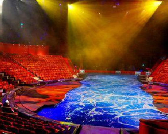 The House of Dancing Water Theatre At City of Dreams, Macau